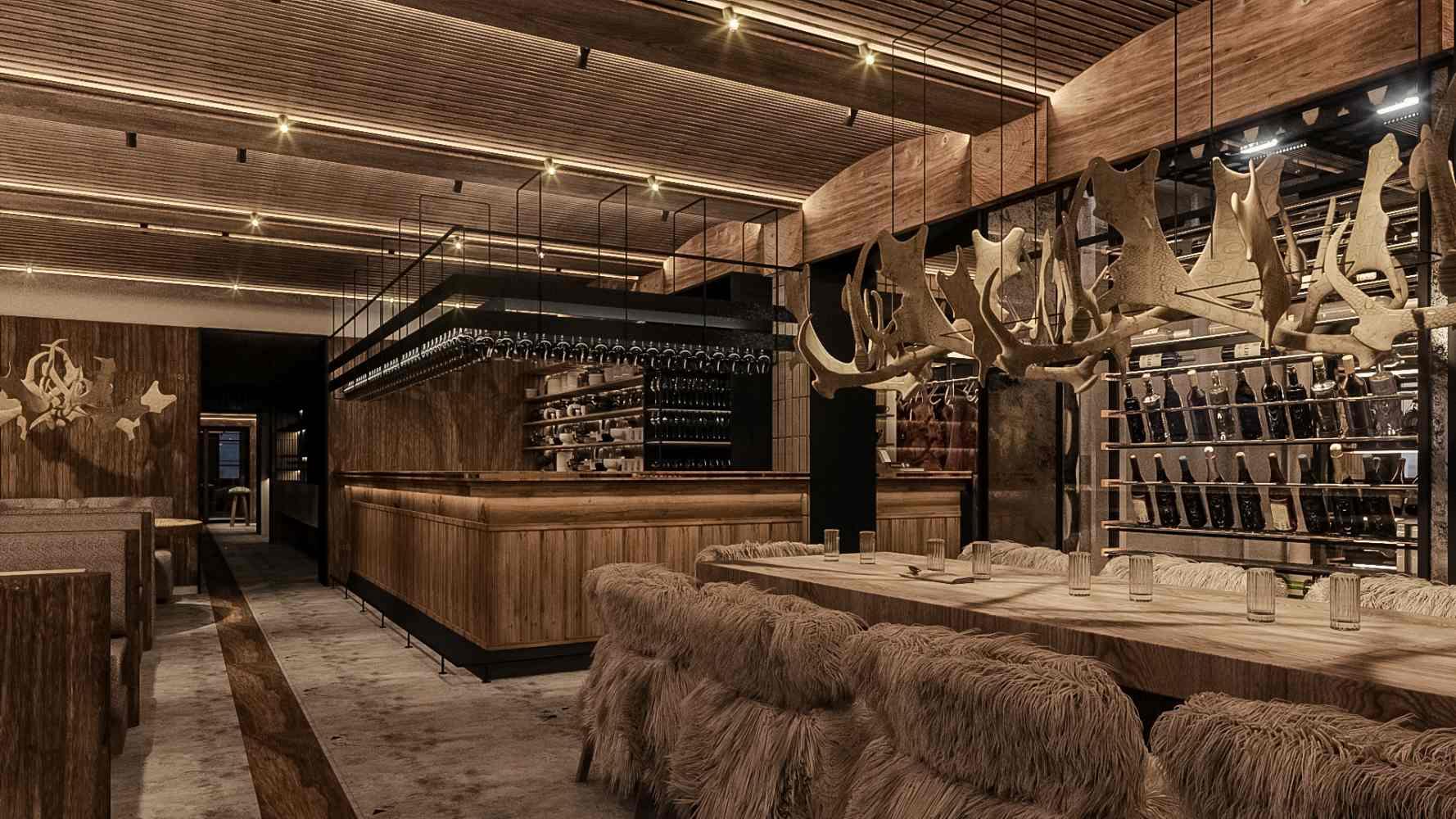 cabana vanatorilor design restaurant