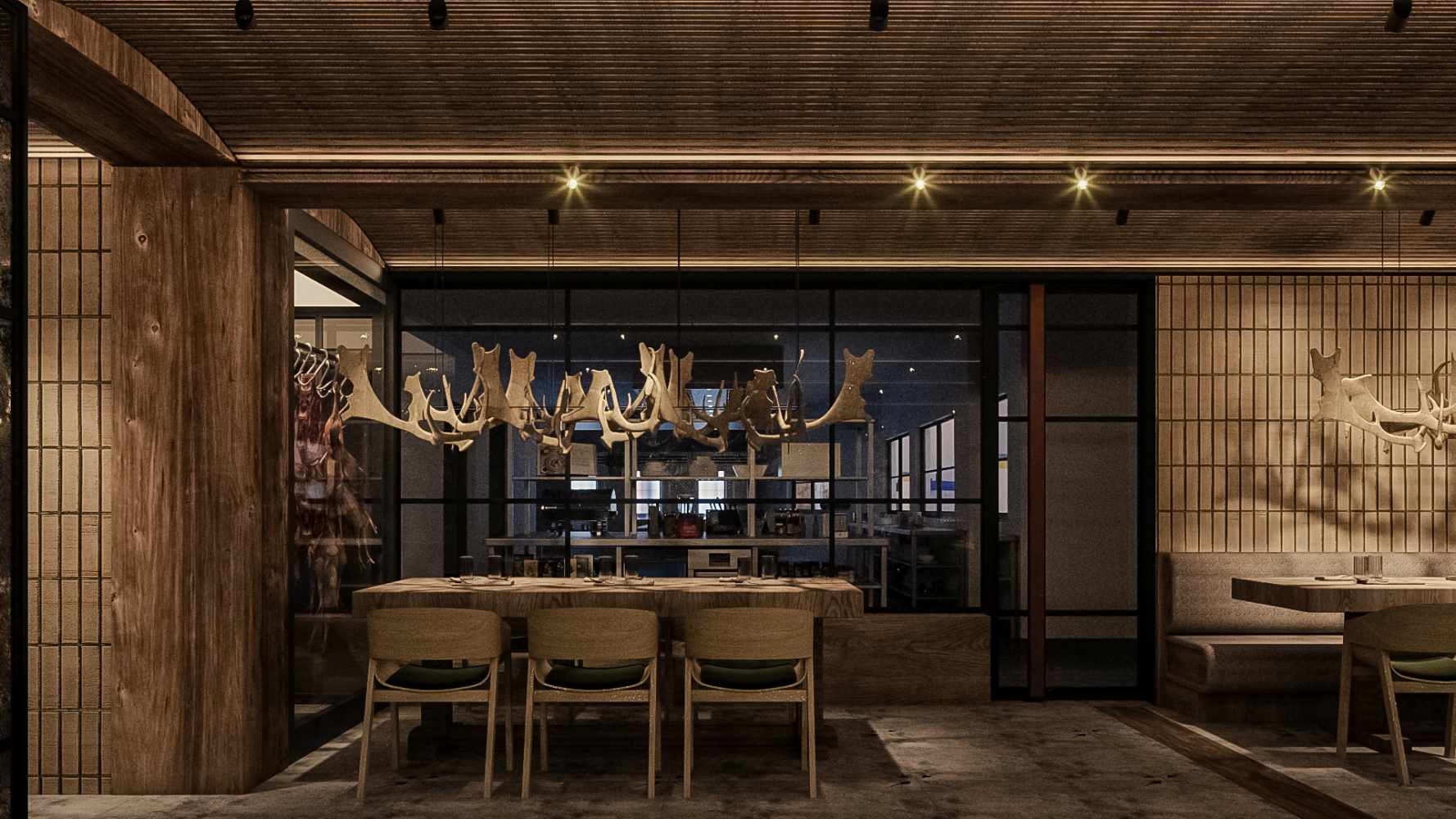 design restaurant grosu art studio