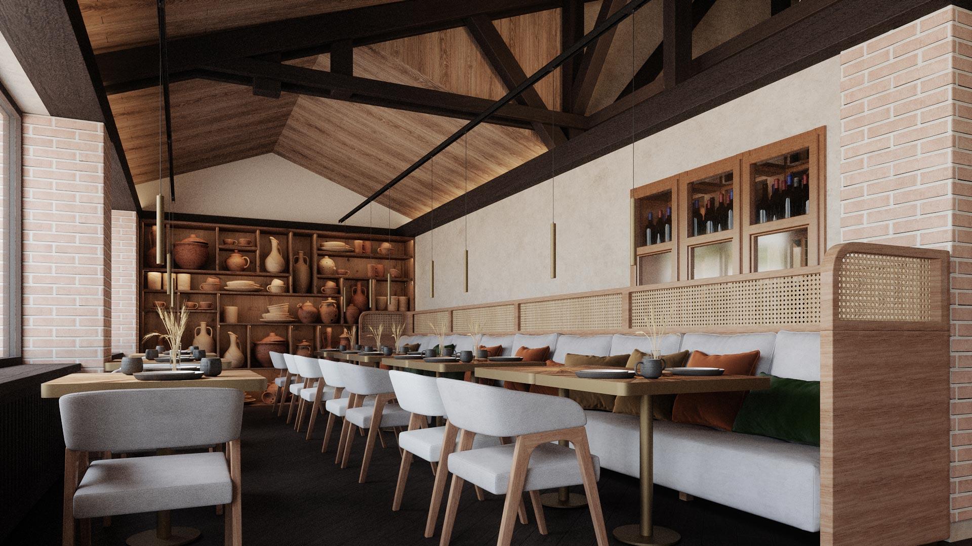 etno minimalism restaurante